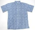REYN SPOONER レインスプーナー 半袖フルオープンB/Dシャツ(BUTRFLY FLOR アズール)