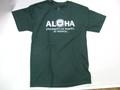 HAWAII UNIVERSITY ハワイ大学 ALOHA Tシャツ(グリーン)
