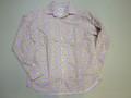 ARVOR MAREE アルボーマレー 長袖オープンプリントシャツ(ラベンダーフラワー)