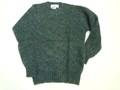 LAURENCE J SMITH ローレンス ジェイ スミス 丸首シャギードッグセーター(チャコール)