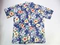 REYN SPOONER レインスプーナー 半袖フルオープンB/Dシャツ(TRIBAL BISCUS INK)