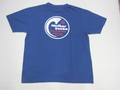 ARVOR MAREE アルボーマレー 半袖プリントTシャツ(マザーオーシャン ネイビー)