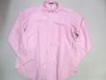 1015 長袖オックスフォードB/Dシャツ(ピンク)