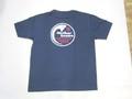 ARVOR MAREE アルボーマレー 半袖プリントTシャツ(マザーオーシャン ダークネイビー)