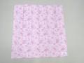 ARVOR MAREE アルボーマレー コットンバンダナ (ピンク パープルフラワー)