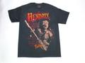 US ROCK ユーエスロック USロックTシャツ(ジミ ヘンドリックス ファイヤー ブラック)