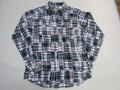 CAMCO カムコ 長袖マドラスパッチワークシャツ(B)