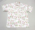 BAYBERRY ベイベリー半袖プルオーバープリント B/Dシャツ(ローズフラワー)