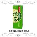 明治玉露入り緑茶 200ml 24本セット
