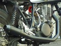 SR400/500用フルエキマフラーTYPE1AN-BU SR400/500 Full Exhaust Type 1
