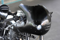 SR用ロケットカウルBALLE TYPE3 ブラック(小径ライト)
