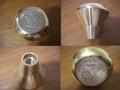 真鍮「ブラス」製1$コインノブ®(シフトノブ)