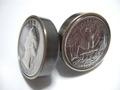 真鍮「ブラス」製25¢コインボルト®A-TYPE