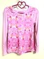 「天使からのギフト」「セラフローズオーラ」の長袖Tシャツ(ポリ)M