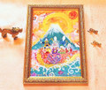 *幸せを招く黄金の龍と七福神と天使たち*【簡易包装】