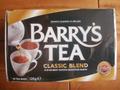 バリーズティー(クラシックブレンド)ティーバッグ Barry's Tea Classic Blend (Tea Bags)