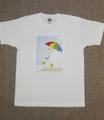 男女共用Tシャツ・XLサイズ 「お散歩」