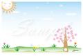 『桜舞う』