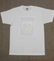 男女共用Tシャツ・Mサイズ 「White Valentine」