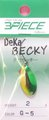 スリーピースルアーズ 3PIECE LURES デカベッキー DEKA BECKY メッキカラー 2.0g-C117