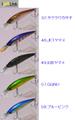 アイジェットリンク ブラストイットミノー 50 フローティング ネイティブ用(iJetLink Blast it Minnow 50F Native)-G872