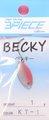 スリーピースルアーズ 3PIECE LURES ベッキー BECKY レギュラーカラー 1.0g-C026