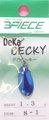 スリーピースルアーズ 3PIECE LURES デカベッキー DEKA BECKY メッキカラー 1.3g-C074