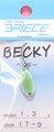 スリーピースルアーズ 3PIECE LURES ベッキー BECKY レギュラーカラー 1.3g-C042