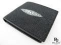 エイ革★財布★黒色★003