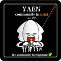 #14 mixi ヤエンコミュニティ 公認ステッカー