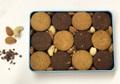米粉の黒糖クッキー缶