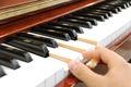 ヤマハ(YAMAHA) W106  中古ピアノ