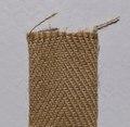 麻ベルト 巾60㍉ 綾織り 1m