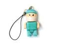 歯医者さん型ストラップ付USBメモリ(16GB)