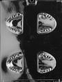 歯列模型(チョコレート型)4穴