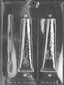 歯ブラシ&歯磨き粉(チョコレート型)3穴