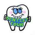 歯のワッペン(DENTIST TOUR)