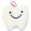歯形キラキラスポンジ(白)