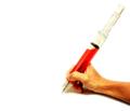 ジャンボ・注射器ボールペン(RED)