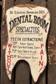 歯形木製アンティーク看板(ビッグサイズ)