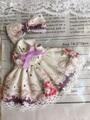オビツ11*花柄ワンピースNo,1