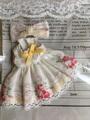 オビツ11*花柄ワンピースNo,3