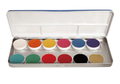 Aquacolor 12 Colors Wet Makeup Palette 1104