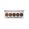 KRYOLAN EYEBROW POWDER PALETTE 5 COLORS