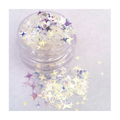 ATELIER RAISIN Twinkle Starz - 4 Point Star, Translucent Silver,