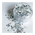 ATELIER RAISIN Silver Bells - Silver Metallic Cosmetic Grade Body & Face Glitter