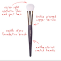 SmithCosmetics 115 FOUNDATION BRUSH