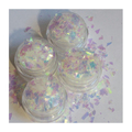 ATELIER RAISIN Ice Queen  - Iridescent White Mylar Flake,