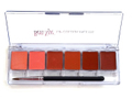 Ben Nye Lip Color PalettesNatural Palette Shades
