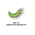 MONDA STUDIO  MSL-011 GREEN WITH FEATHERTIP